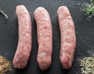 Saucisse à rôtir de porc BIO
